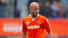 Luke Guttridge scored the winner for Luton Town.