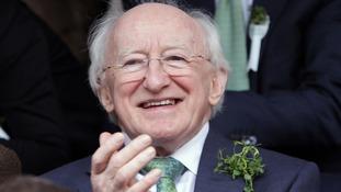 Ireland's President Michael D Higgins