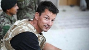British Islamic State hostage John Cantlie has featured in another propaganda video.