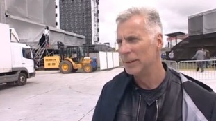 Isle of Wight festival organiser John Giddings.