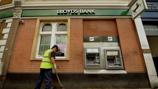Lloyds announces job losses while profits rise 41%.