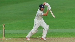 Trott in action for Warwickshire