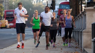 Ben McBean on Poppy Appeal run