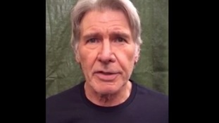 Harrison Ford from video