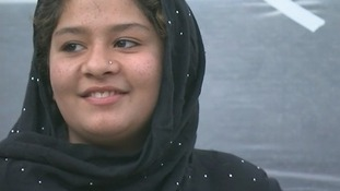 Tarana Akbari, 15, was just 12 when a suicide attack killed seven members of her familu