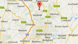 The earthquake struck near Papplewick in Nottinghamshire.