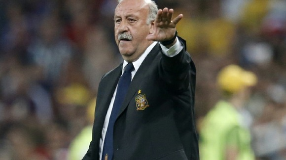 Spain manager Vicente del Bosque.