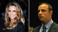 Katie Price claims Oscar Pistorius contacted her during his manslaughter trial.