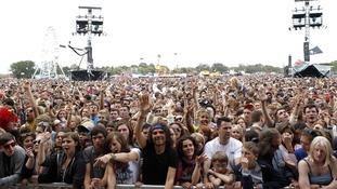 Isle of Wight festival fans