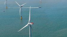 General picture of windfarms