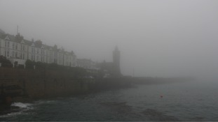 Foggy Porthleven