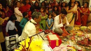 How London celebrated the Bengali festival of Durga Puja
