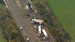 Safety improvements following M5 crash in Somerset