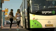 Israeli settlers claim that women feel intimidated to travel in buses with Palestinian men