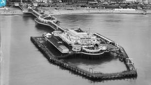 Brighton's West Pier 1927