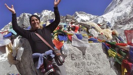 Granny, 75, climbs Mount Everest to raise money for charity