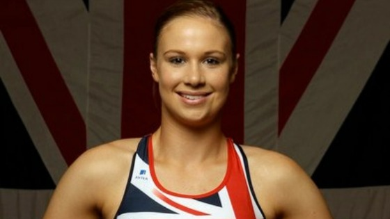 Sophie Hitchon in Team GB uniform