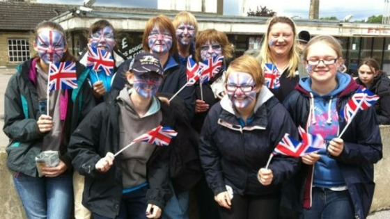 Brighouse torch relay