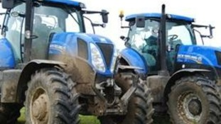 Picture of tractors released by organisers