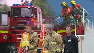 Firefighters set to strike for four days.