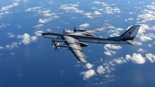 A Tu-95 Bear bomber