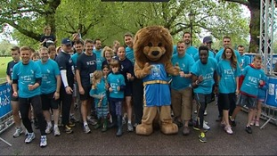 Pictures from the Battersea Park fun run
