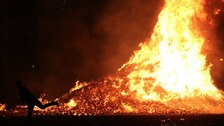 Fire services are urging people to take extra care this weekend