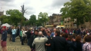 Skipton crowds