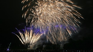 Fireworks display will still go ahead as planned