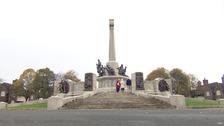 A view of the Port Sunlight War Memorial.