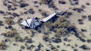 Virgin Galactic space craft crashes - one killed, another injured