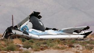 Pilot dies as Virgin Galactic's SpaceShipTwo lost during test