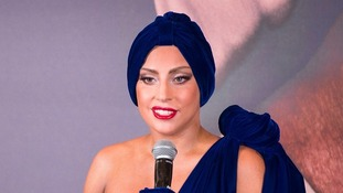 Lady Gaga has two songs in the list.