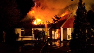 Fire at bungalow in Henfield