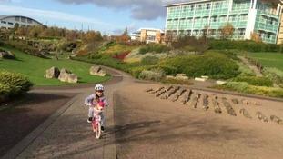 Calleigh cycling