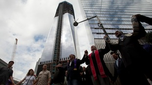 The opening of the One World Trade Centre will be emotional.