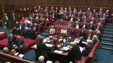 Peers paid tribute to the late Lord Barnett while debating funding to Wales