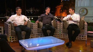 ITV pundits Roy Keane, Jamie Carragher and Gareth Southgate