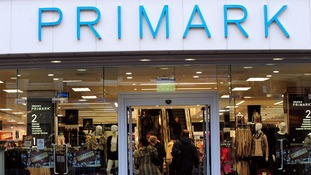 A general view of a branch of Primark in Derby city centre