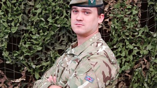Captain Rupert Bowers was killed in a bomb blast in March 2012