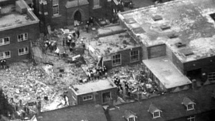 Deal barracks following the blast