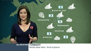 West Midlands weather: Clear spells and fog patches