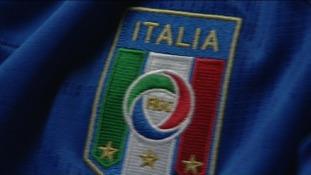 Italian football shirt