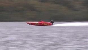 Daredevils are taking to the water later as part of Coniston Power Boat Records Week.