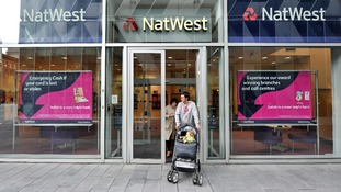 A NatWest bank in Spinningfield in Manchester as branches open for extended hour