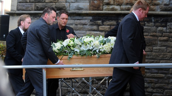 Shakin Stevens Daughter Impressive Alvin Stardust Laid To Rest In His
