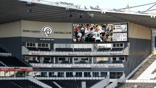 What the screen could look like inside Pride Park
