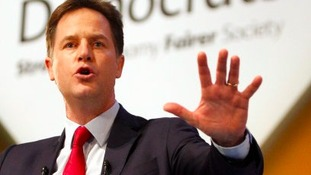Clegg calls for cash to be spent now on northern transport