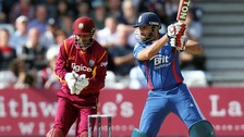 Essex & England's Ravi Bopara bats during the NatWest International T20 match at Trent Bridge, Nottingham.