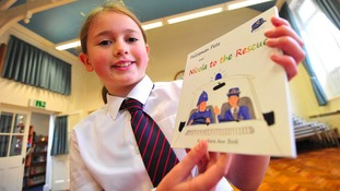 PC Nicola Hughes remembered in children's books